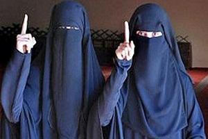 دو دختر اتریشی داعشی : پشیمان هستیم،می خواهیم برگردیم +عکس