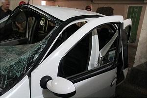 انفجار عجیب خودروی تندر 90 +تصاویر
