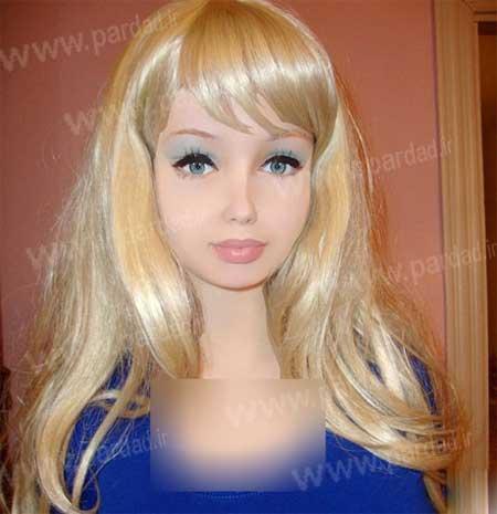 این دختر واقعی است یا عروسک ؟! +تصاویر