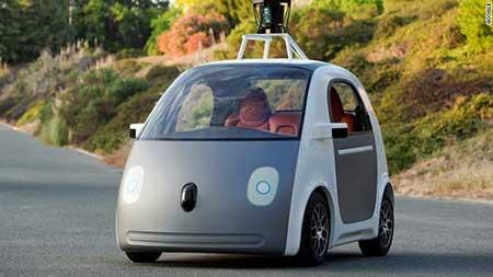 اتومبیل گوگل در راه اتوبانهای مرگبار آمریکا + تصاویر