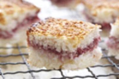 شیرینی نارگیلی ساندویچی برای عید فطر