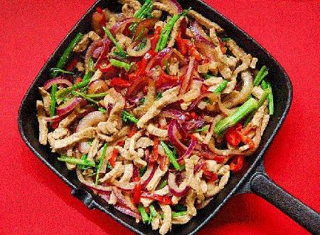طرز تهیه خوراک گوشت و رشته