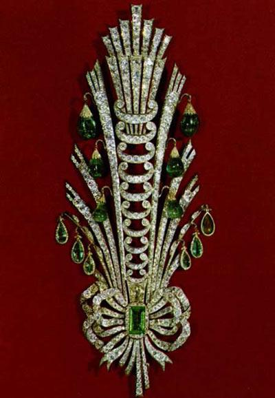 تصاویری از جواهرات ناصرالدین شاه