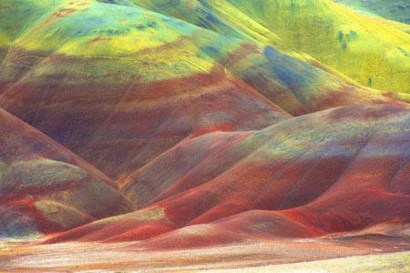 کویری شبیه به تابلو نقاشی + عکس
