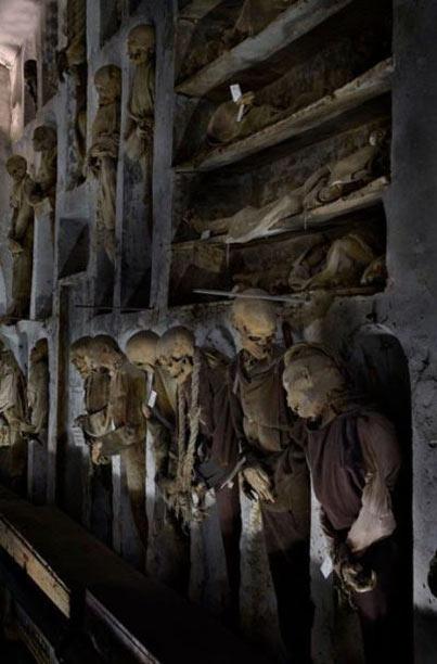 موزه جنازه های مومیایی در ایتالیا (+تصاویر)