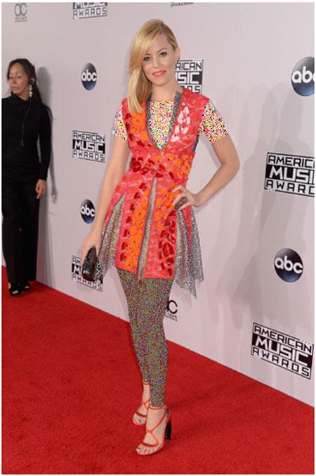 پوشش های هنرمندان هالیوودی در Amerian Music Awards 2014