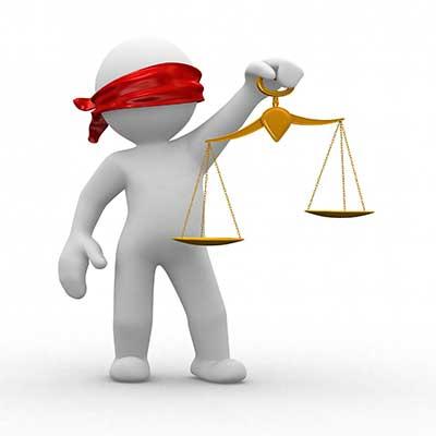 قاضی هایی بدون چشم