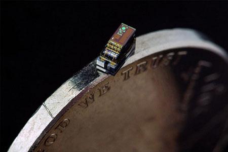 ساخت کوچکترین رایانه جهان به اندازه یک دانه برنج(+عکس)