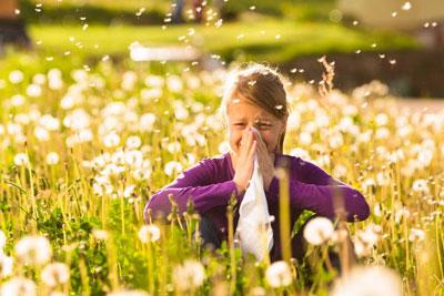 آلرژی را به نقطه دور برانید